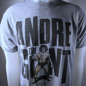 L Vintage Andre the Giant T shirt